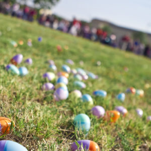 Alone Again at an Easter Egg Hunt